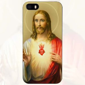 Christian Jesus The Cross Black Plastic Case Cover