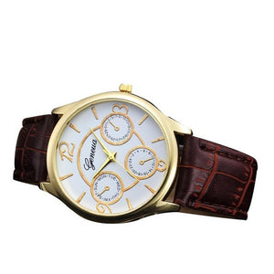 2018 Men's Quartz Stainless Steel Business Watches