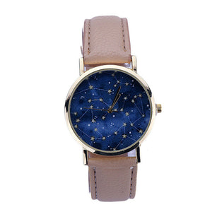 GENVIVIA Fashion Women Watch Romantic Night Star