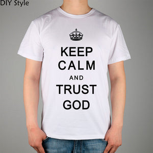 Christian Jesus Catholic LORD T-shirts Short Men high quality Fashion Brand t shirt