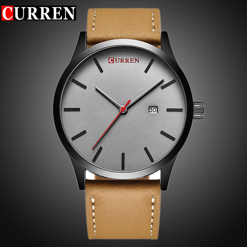 CURREN Top Brand Luxury Quartz watch