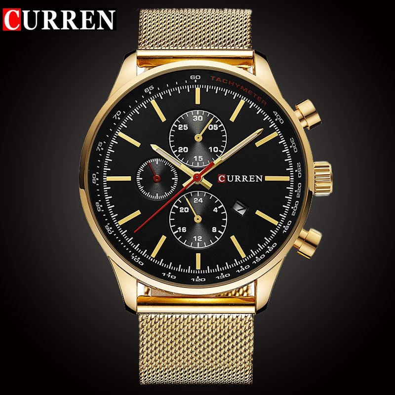 CURREN Men's Sport Brand Quartz Watch