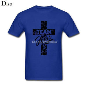 Team Jesus Christian Cross T Shirt