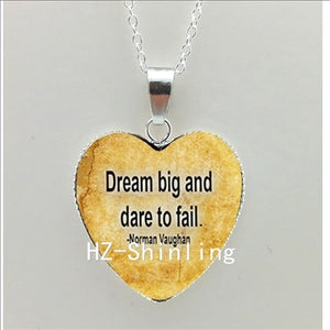 Believe Hope Heart Necklace