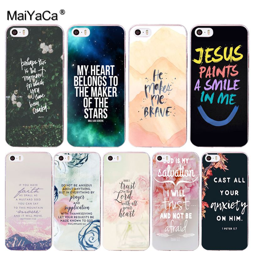 Bible Philippians Jesus Christ Christian phone case