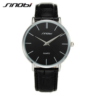 Super slim Quartz Casual Wristwatch Business