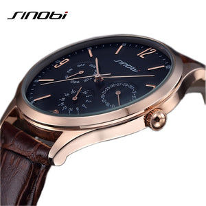 SINOBI Analog Men's Relogio Quartz Watch
