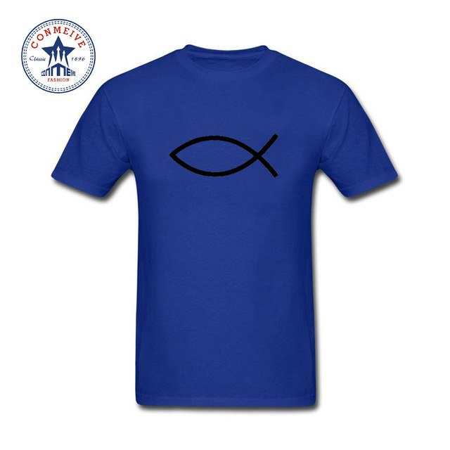 Funny t shirt men Christianity Cotton T Shirt for men