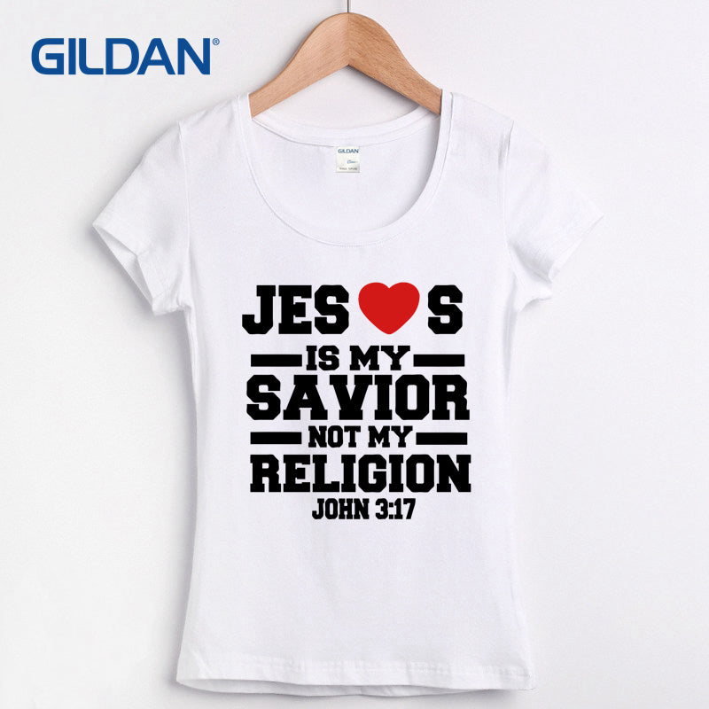 Jesus Is My Savior Not My Religion Christian Religious God Prayer 2018 Personalized T-Shirt