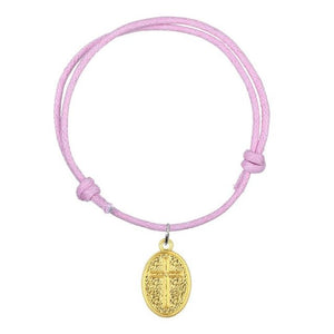 Golden Charm Fashion Wax Cord Adjustable Bracelets