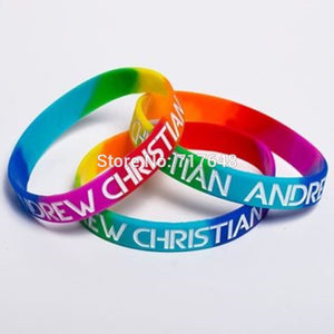 CHRISTIAN PRIDE RAINBOW wristband 300 pieces