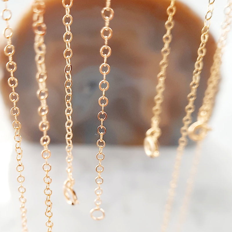 Ketting 14 krt. gold-filled