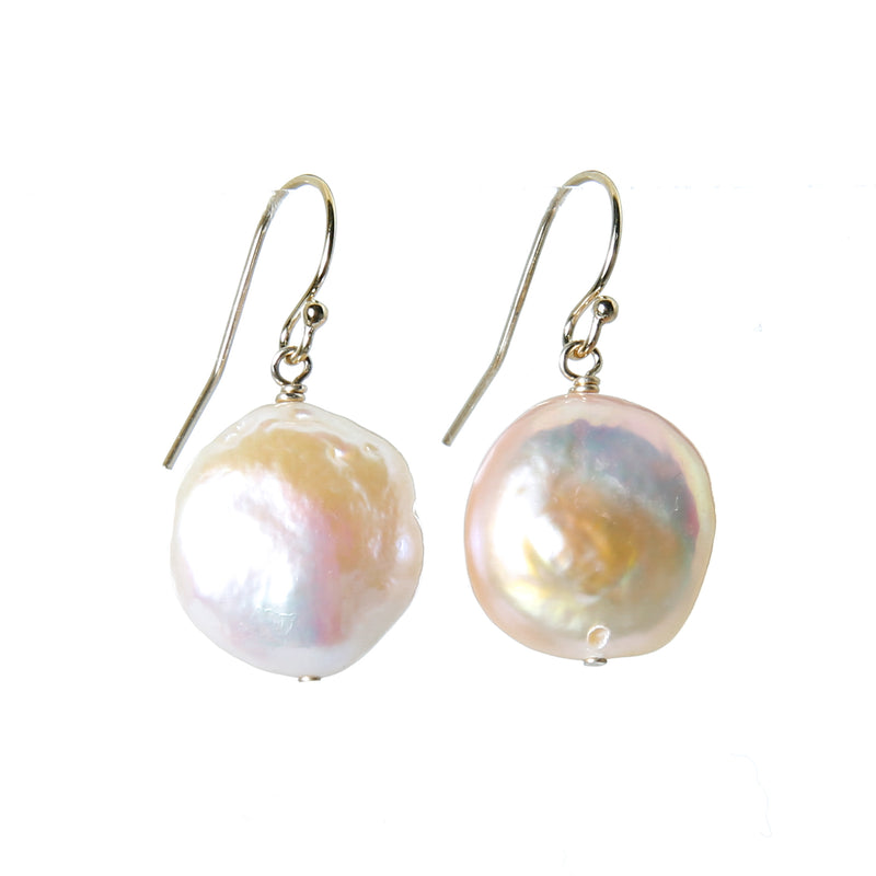 Pearl earring coin