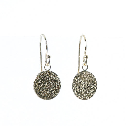 Earring with fancy coin
