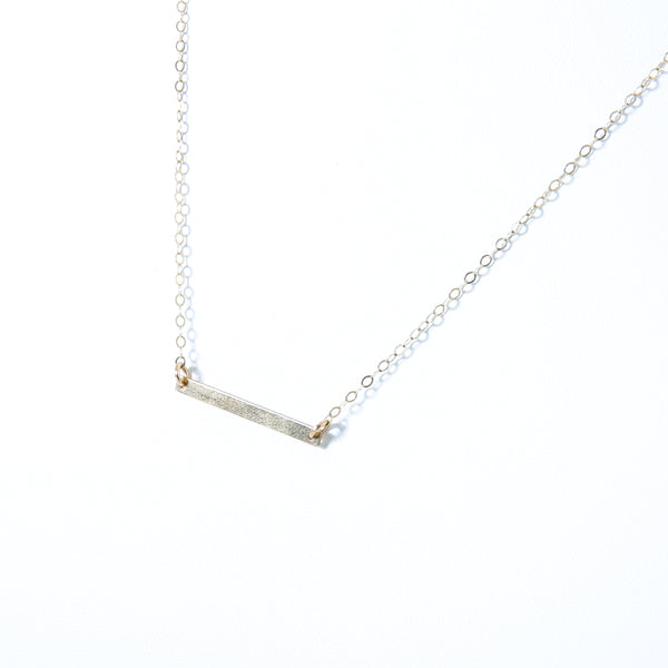 Necklace with rectangle component