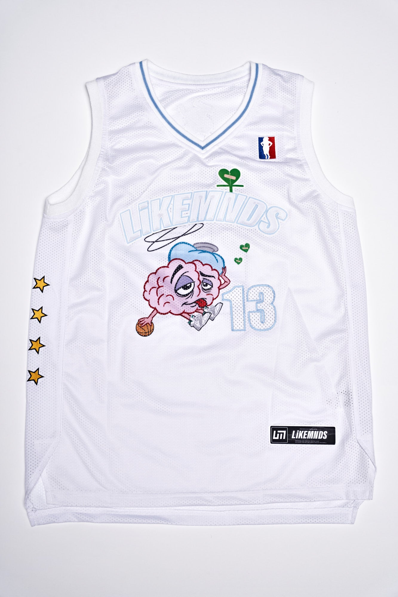 DREAM WORKZ JERSEY - WHITE
