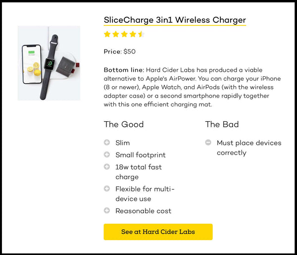 Review by iMore - SliceCharge 3in1 Wireless Charger review