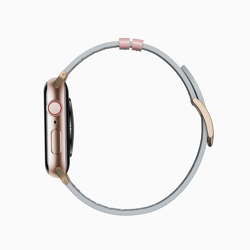 Pink Leather Sport Band