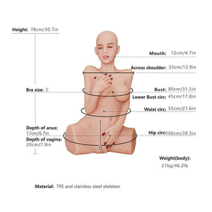 Sex Doll Torsos 95cm Head#95 Natural