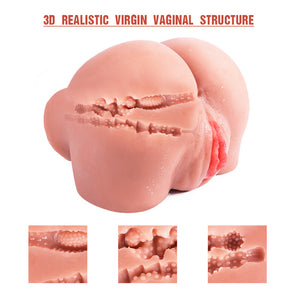 Realistic Ass and Vagina Male Masturbation Sex Toy For Men
