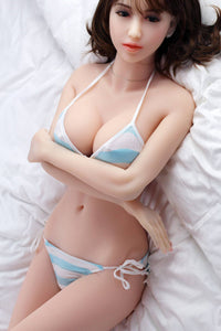 158CM Beautiful Realistic Doll Ludmila Daring to Love Men Silicone Material