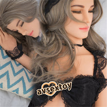 Load image into Gallery viewer, 158CM Alisa Sex Love Doll Silicone Entity Body Mouth Vagina Anal Lifelike Sexy Real Solid Love Toy