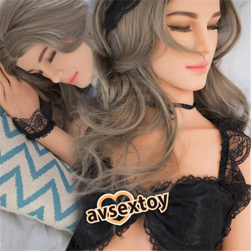 158CM Alisa Sex Love Doll Silicone Entity Body Mouth Vagina Anal Lifelike Sexy Real Solid Love Toy