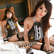 Load image into Gallery viewer, 165CM Bosomy Bunny Girl Jamie Lifelike Silicone Doll