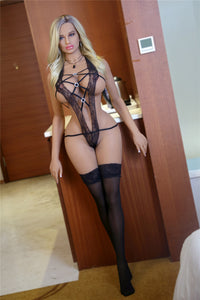 161CM Custom Sex Woman Gladys For Realistic Silicone Doll