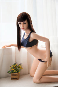 156CM Daring Dress Sunshine Girl Leah For Men Love Silicone Doll