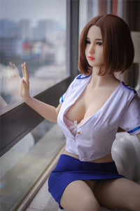 165CM Driving Comfortable Sleeping Uniform Girl Silverdew Custom Sex Silicone Doll