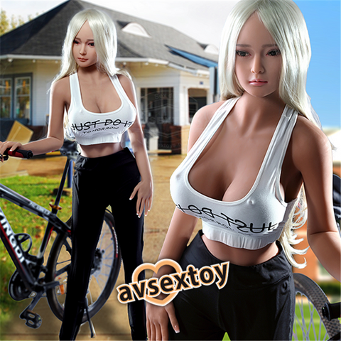 158CM Ecosystem Friendly Girl Vivienne Sexual Boody Silicone Doll
