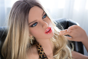 166CM Entice Golden Cat Jennifer Lifelike Silicone Doll