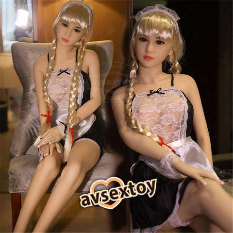 158cm Princess Small Breast Sex Love Doll Silicone Body Lifelike Love Toy