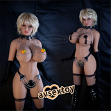 170CM First-rate Chesty Girl Jasmine Silicone Doll