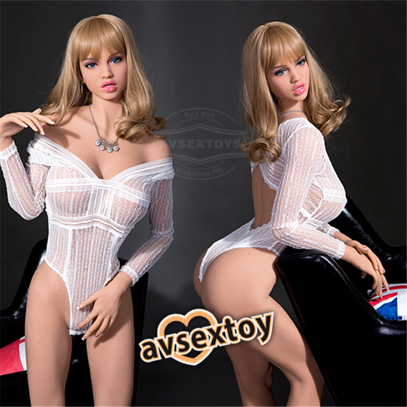 166CM Golden Hair Women Luella Love Of Yearning Lifelike Silicone Doll
