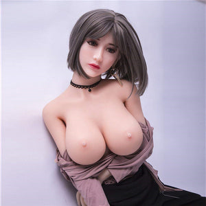 158CM Goog-looking Girl Blanche Fscinating Men Love Lifelike Silicone Doll