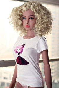 156CM Happiness-maker Ludmila In Golden Hair Nature For Men Toy