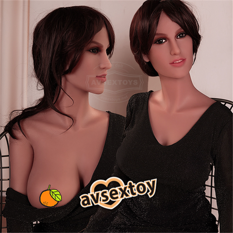 158CM Lively Stunning Girl Elvira Silicon Doll For Male Love