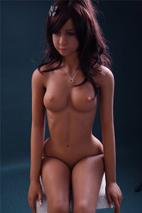 160CM Ravishing Curvy Figure Girl Rose For Silicone Doll