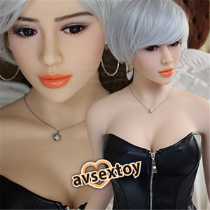 158CM Sexual Short-hair Girl Candice Elaborating Lifelike Silicone Doll
