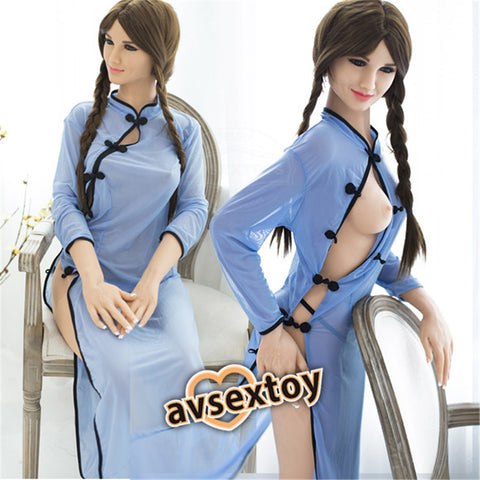 158CM Angelia Sex Love Doll Silicone Entity Body Mouth Vagina Anal Lifelike Sexy Real Solid Love Toy