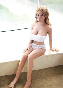 142cm White Bikini Girl Angelina Real Love doll