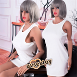 165CM White Dress Entice Beauty Adela For Men Showing Warmth Love Silicone Doll