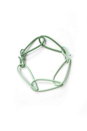Modular Bracelet in Soft Mint and Pale Green - medium