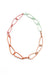 Modular Necklace in Dusty Rose, Desert Coral, Light Raspberry, and Soft Mint