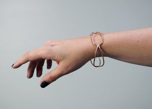 quadrant monument bracelet in bronze