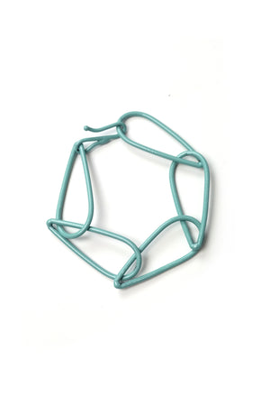 Modular Bracelet in Faded Teal - small