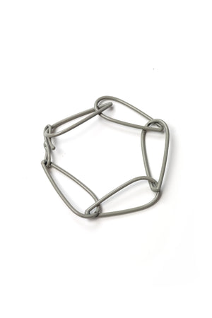 Modular Bracelet in Stone Grey - small