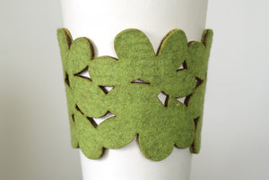 original cozy/cuff - light green